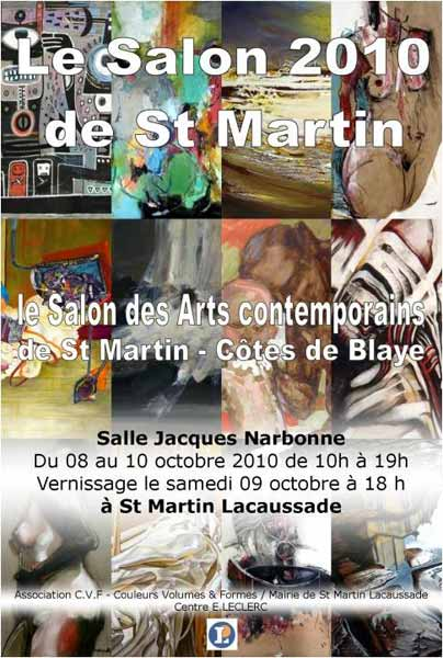 Le salon 2010 de saint Martin